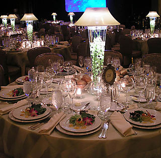wedding table lighting decor