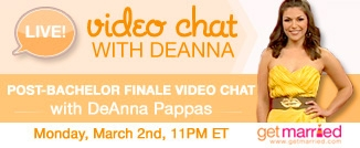 Chat live with DeAnna March 2 at 11pm