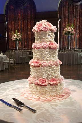 Elegant Events has a wedding featured in Cincinnati Wedding